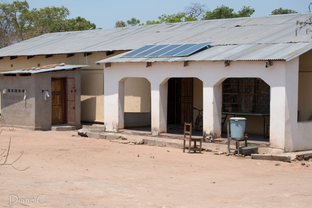 Students hostel at Chasefu - solar power and borehole water!